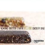 Almond Butter Carob Energy Bar