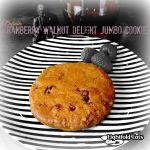 Cranberry Walnut Delight Jumbp Cookie